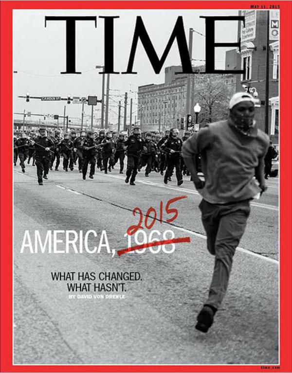 Racismo revista TIME