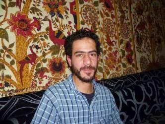 Aejandro Haddad en un restaurante kurdo en Madrid / Actualidad Kurda